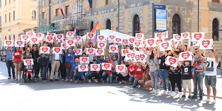 volontari omphalos perugia pride
